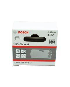 BOSCH HSS Bimetal Holesaw 32mm