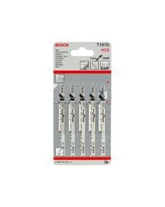 Bosch Jigsaw Blades T101D Wood Pack of 5