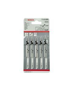 Bosch Jigsaw Blades T101BR Wood & Laminate Pack of 5