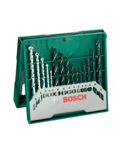BOSCH X-Line Mini Mixed Drill Bit Set 15pcs