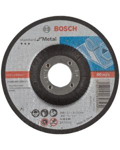 Metal Cutting Disc - Depressed 4.5in 22x115mm