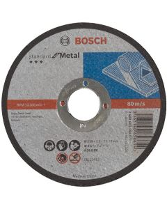Metal Cutting Disc - Flat 4.5in 22x115mm