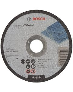 Bosch Metal Cutting Disc Flat 5in 22mm x 125mm