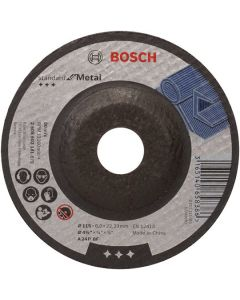 Metal Grinding Disc - Depressed 4.5in 22x115mm