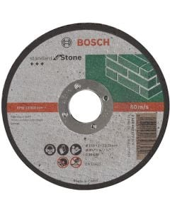 Stone Cutting Disc - Flat 4.5in 22x115mm