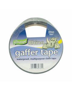 Heavy Duty Gaffer Tape Silver 50mm x 10m Roll
