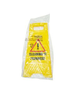 Wet Floor Standing Signs Caution & Cleaning In Progress