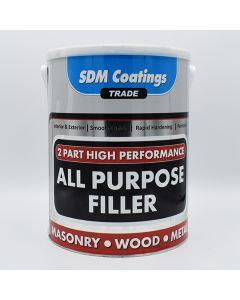 SDM COATINGS 2 Part Epoxy All Purpose Filler 6kg Grey