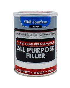 SDM COATINGS 2 Part Epoxy All Purpose Filler 1.5kg Grey