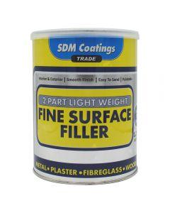 SDM COATINGS 2 Part Epoxy Fine Surface Filler 1.25kg Light Grey