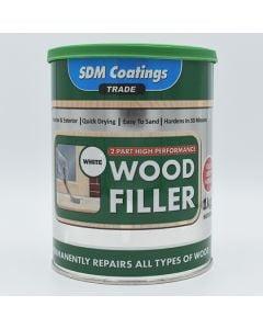 SDM Coatings High Performance Wood Filler White 1kg