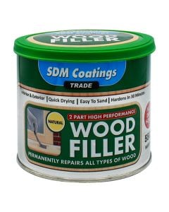 SDM COATINGS 2 Part Epoxy Wood Filler 550g Natural