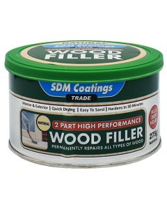 SDM COATINGS 2 Part Epoxy Wood Filler 275g Natural
