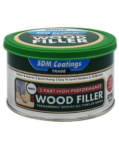 SDM Coatings High Performance Wood Filler White 275g