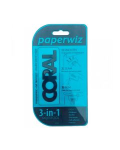 Coral Paperwiz 3in1 Wallpaper Smoother Trimmer Edger Tool