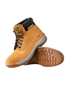 DEWALT Apprentice Sports Safety Boots Size 9 Wheat