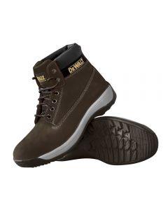 Dewalt Apprentice Sports Safety Boots Size 10 Dark Brown