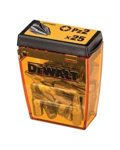 DEWALT Bits Pozi No.2 25 Piece Box