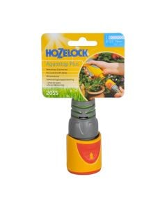HOZELOCK Hose Pipe Fitting AquaStop Water Stop Connector 1/2in