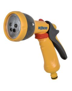 Hozelock Hose Pipe Fitting 5 Pattern Multi Spray Gun