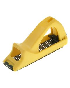 STANLEY Surform Block Plane Yellow Plastic