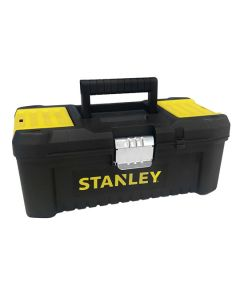 STANLEY Toolbox w/Metal Latches and Basic Organiser 12 1/2in