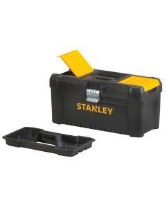 STANLEY Toolbox w/Metal Latches and Basic Organiser 16in