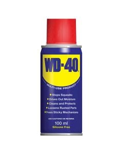 WD40 Lubricating Spray 100ml