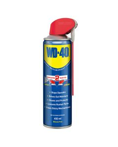 WD40 Lubricating Spray Smart Straw 450ml