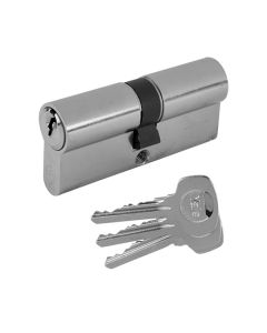 Yale Cylinder Euro Profile Lock Thumbturn Key 80mm