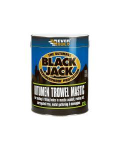 EVERBUILD Bitumen Trowel Mastic 1L