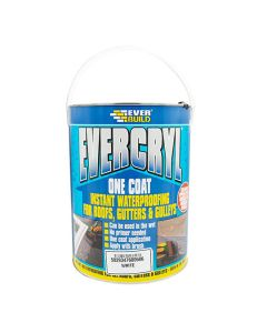 EVERCRYL Roof Repair Compound One Coat Waterproofing 5kg White