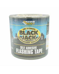 Everbuild Black Jack Flashing Tape 75mm x 10m Roll