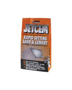 Everbuild Jetcem Rapid Setting Sand & Cement 2kg