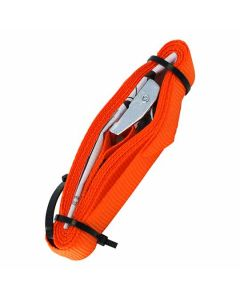 Jumbo Tie Down Light Duty With Buckle 250kg Orange 3m