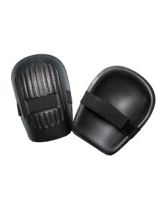 Knee Pads Rubber Straps Black