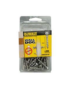 DeWalt Wall Dog Self Tapping Screw CSK CP 8x32mm Box of 100