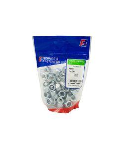 Hex Nuts - Nylon Locking M10