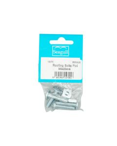 Roofing Bolts M6x25mm Pack of 4