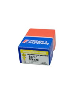 Twinthread Pozi Screws EB 3/4in x 6 Box of 200