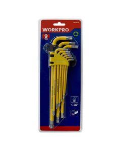 Workpro Torx Key Set T10-T50 9 Pieces