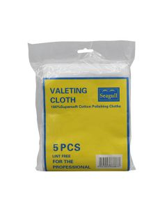 Lint Free Valeting Cloth Pk5