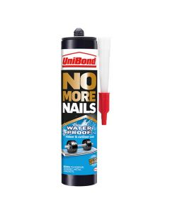 UNIBOND NO MORE NAILS Exterior Water Resistant Adhesive 300ml