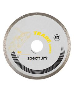 Spectrum Diamond Disc Blade SD+Ceram Tile Smooth 115x22mm