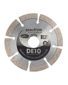 SPECTRUM DIAMOND Disc Blade Segmented Gen Purp Dry Cut 115x22mm