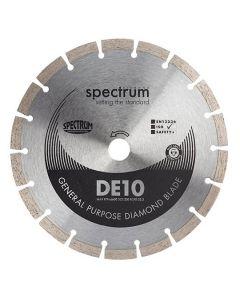 SPECTRUM DIAMOND Disc Blade Segmented General Purpose 230x22mm