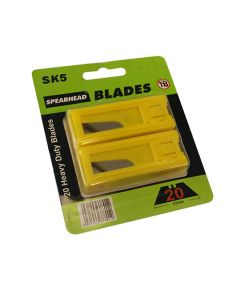 Spearhead Heavy Duty Knife Blades Pack of 20