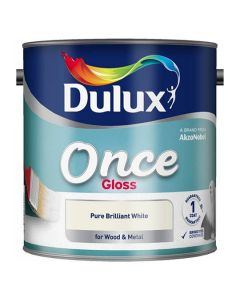 DULUX Retail Gloss 2.5L B/White