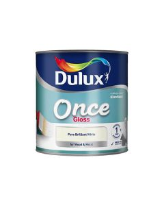 DULUX Retail Quick Dry Satinwood 2.5L B/White