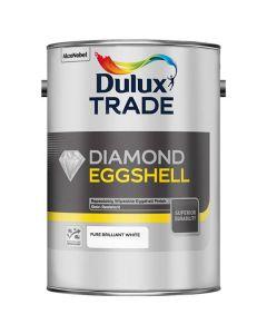 DULUX Trade Diamond Q/D Eggshell 5L B/White